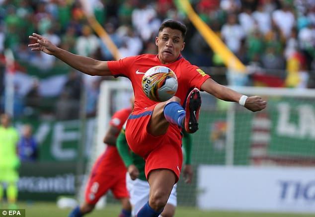 Bất ngờ lớn nhất ở khu vực Nam Mỹ thuộc về thất bại 0-1 của Chile trước Bolivia. Cá nhân ngôi sao Sanchez (Chile) thi đấu khá mờ nhạt.