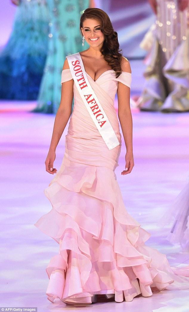 Rolene Strauss - Hoa hậu Thế giới 2014 cũng là người Nam Phi.