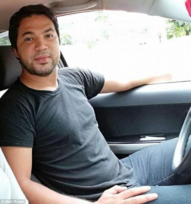 Pedro Heriberto Gleano, người đã để lại nhiều thương tích trên người vợ mỗi khi có người tương tác với cô trên Facebook.