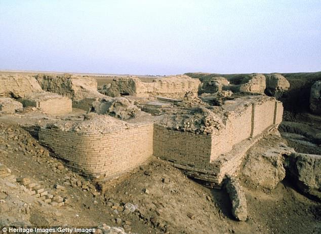Nghĩa trang Hoàng gia Ur – nơi hàng trăm người đã hi sinh. Ảnh: DailyMail
