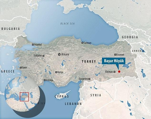 Başur Höyük được nhận định rằng chính làMesopotamia – cái nôi của nền văn minh nhân loại. Ảnh: DailyMail