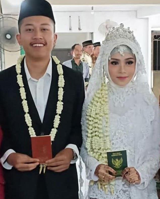 Febrianto và Lutfinani Eka Putri mới kết hôn được 2 tuần thì thảm kịch xảy ra.