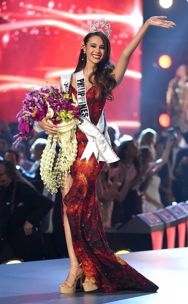 Chúc mừngCatriona Gray - Tân Hoa hậu Hoàn vũ 2018.