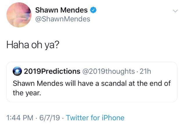 """Câu trả lời của Shawn đã khiến cho cộng đồng fan hâm mộ được phen """"hả dạ"""" vì đã cả gan """"hăm he"""" sự nghiệp thần tượng của họ."""