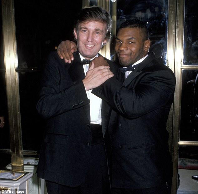 Donald Trump vàMike Tyson có tình bạn đẹp.