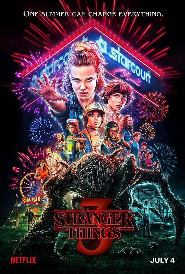 """Poster """"Stranger Things 3"""""""