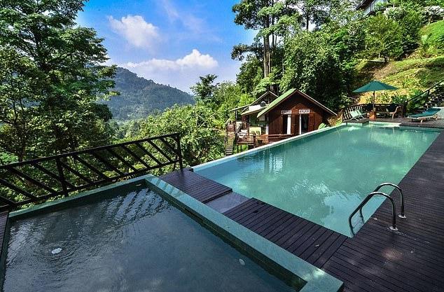 Khu nghỉ dưỡng Dusun là nơi xảy ra vụ việc.