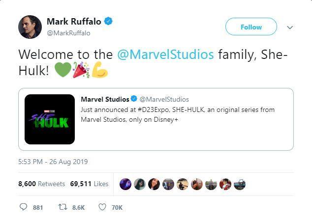 Hulk chào đón She-Hulk đến với Vũ trụ Điện ảnh Marvel ảnh 1