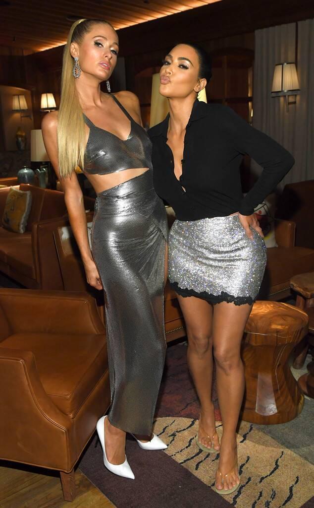 Paris Hilton than trời vì sự cố lộ nội y khi vừa bước xuống bữa tiệc của Kim Kardashian ảnh 3