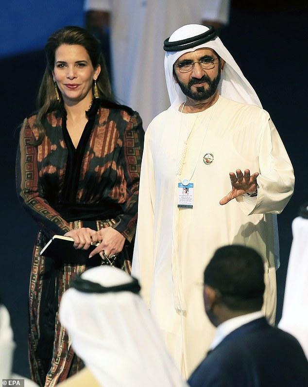 Vụ ly hôn của Công chúa Haya và tiểu vương Dubai khiến báo chí tốn không ít giấy mực.