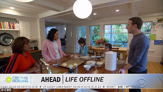 Zuckerberg và vợ luôn hướng tới việc dạy các con sự kỷ luật và chăm chỉ.