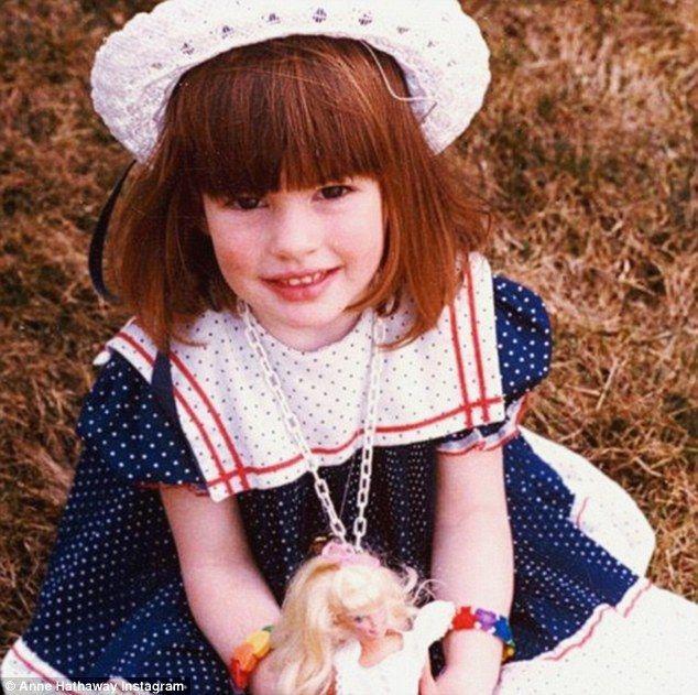 Khi còn bé, Anne đã sở hữu đôi mắt to tròn, làn da trắng như sữa và khuôn miệng rộng khi cười 'đặc trưng'
