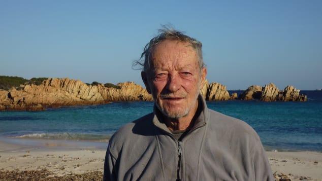 Mauro Morandi sống một mình trên đảo suốt 30 năm.