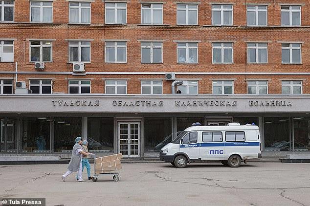 Bệnh viện nơi ghi nhận vụ việc.