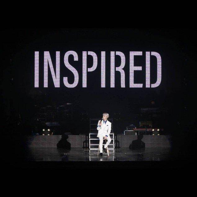 Và Inspired concertlà solo concert cuối cùng của chàng ca sĩ Kim Jonghyun.