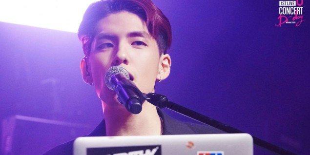 Nam ca sĩ Wonpil thuộc DAY6.
