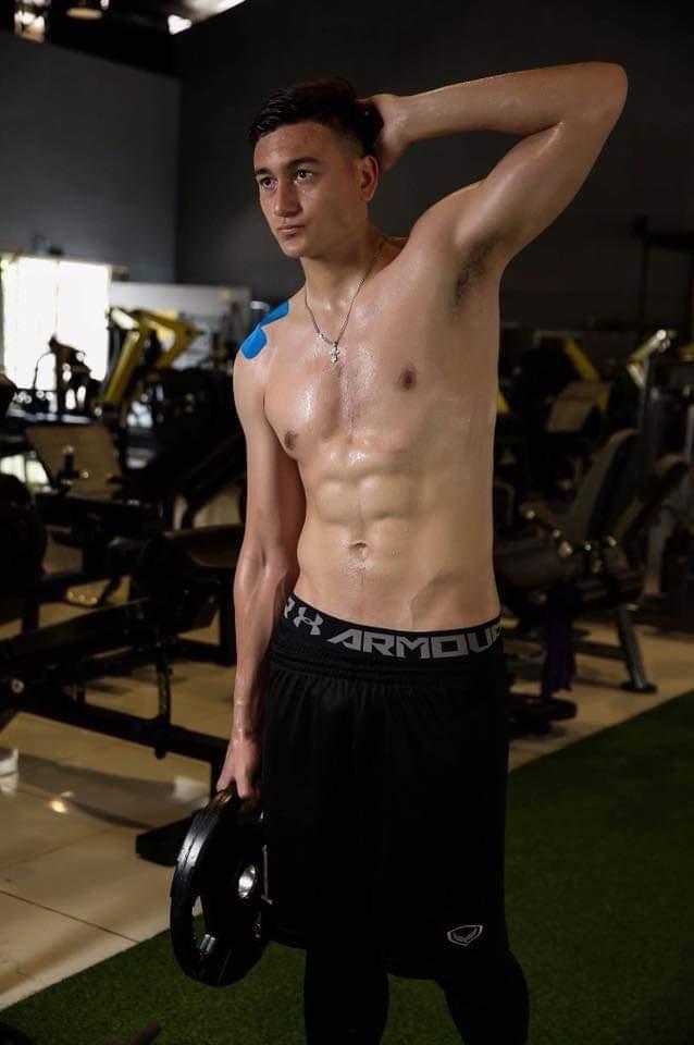 Đây là thành quả sau những ngày tập luyện vất vả trong phòng gym…
