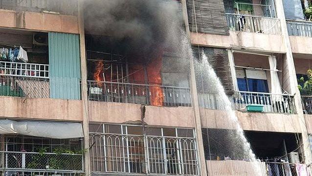 KTX Trường CĐ Kỹ thuật Cao Thắng, nơi vừa xảy ra vụ cháy ngày 11/7. Ảnh: Môi trường và Đô thị