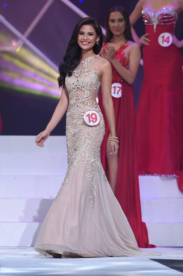 Khi tham gia Hoa hậu Thế giới Philippines cô được đánh giá cao ngay từ đầu.