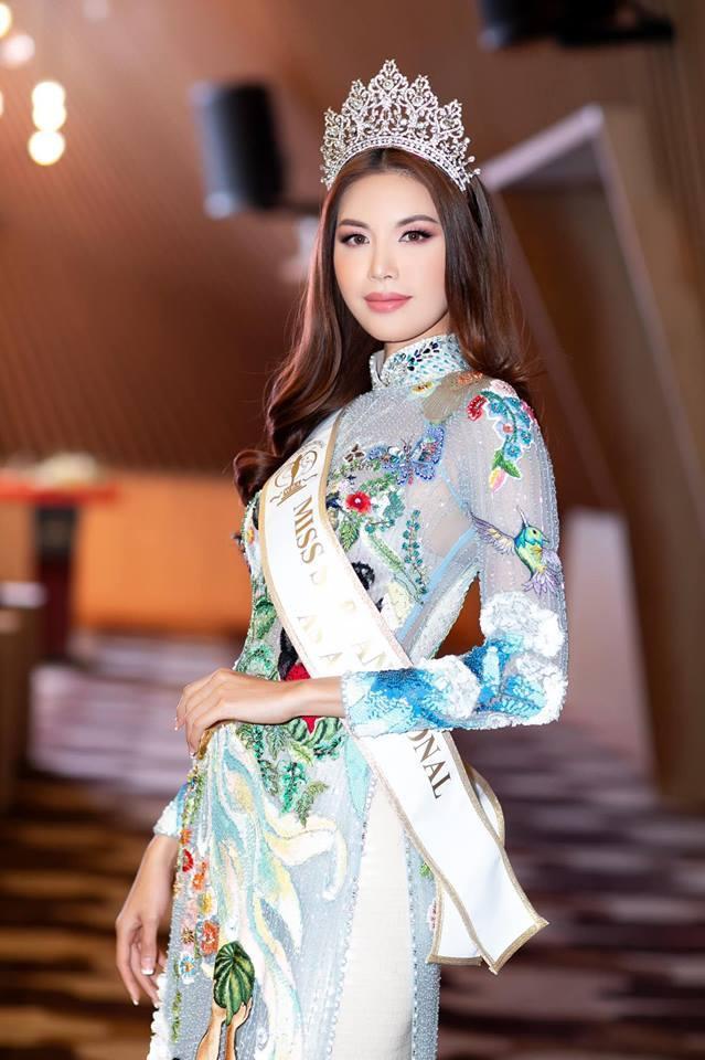 """Liệu """"cô tiên răng thỏ"""" sẽ tiếp tục chinh chiến quốc tế hay tạm hài lòng với danh hiệu Hoa hậu Siêu quốc gia châu Á?"""