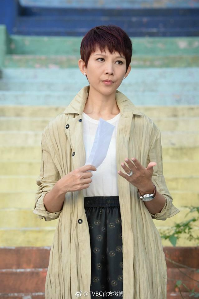 Những nữ diễn viên TVB đẹp không ngờ khi để tóc ngắn ảnh 11