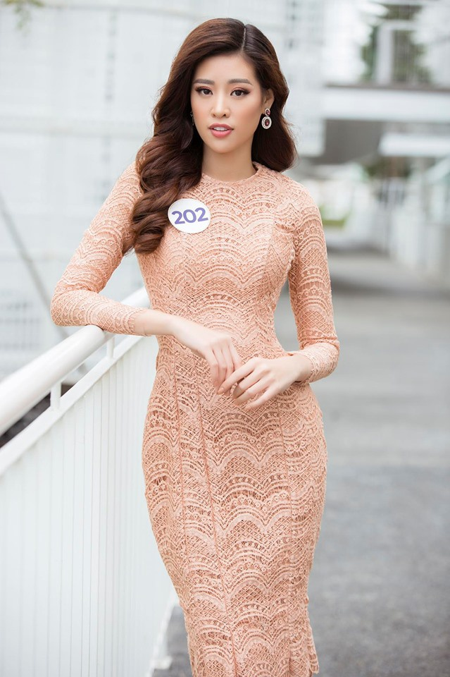 Ngay từ vòng sơ tuyển, Khánh Vân đã được nhận định là một trong những thí sinh mạnh của cuộc thi Hoa hậu Hoàn vũ Việt Nam năm nay.