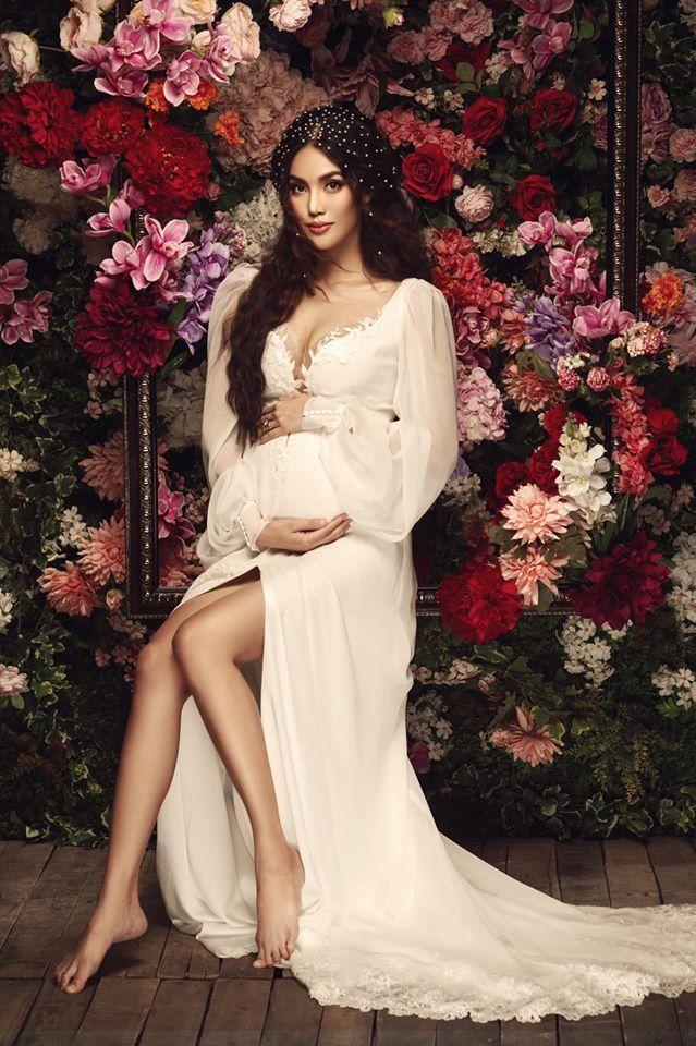 Lan Khuê lúc đang mang thai Trầm trồ vì nhan sắc như gái chưa chồng của các mỹ nhân Việt sau sinh con