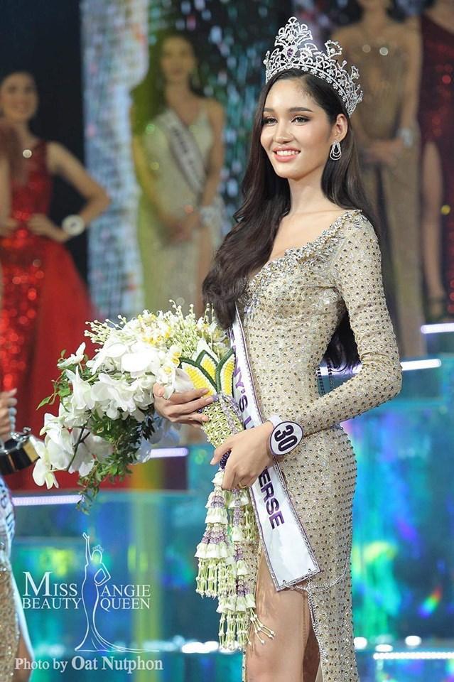 Lộ diện 2 đối thủ đáng gờm của Hoài Sa tại MQI 2020: Hoa hậu Nhật già dặn, đại diện Thái Lan quá xinh đẹp ảnh 0