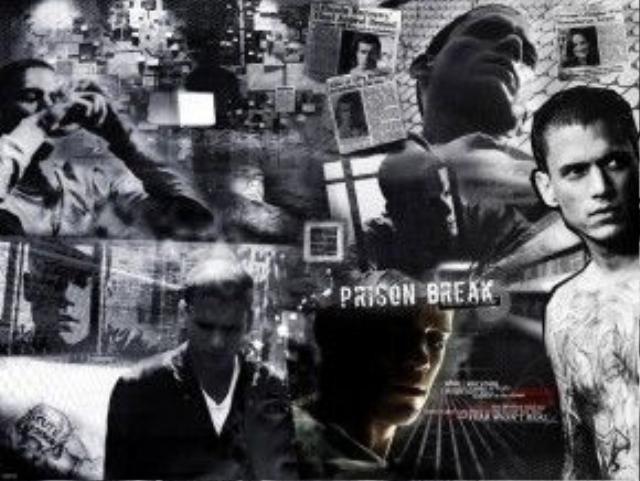 """Có những """"nhóm"""" khác nhau trong tù. Hình ảnh lấy trong phim """"Vượt ngục""""."""