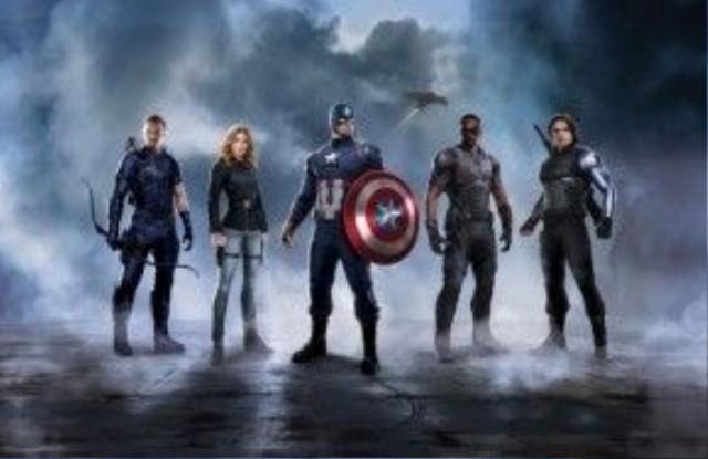 Team Captain America vẫn kề vai sát cánh
