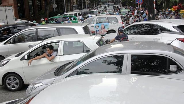 Sơ đồ vành đai thu phí khi ôtô đi vào khu vực trung tâm - Đồ họa: Tấn Đạt.