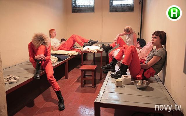 Thí sinh Ukraine's Next Top Model trải nghiệm cảm giác… ở tù.
