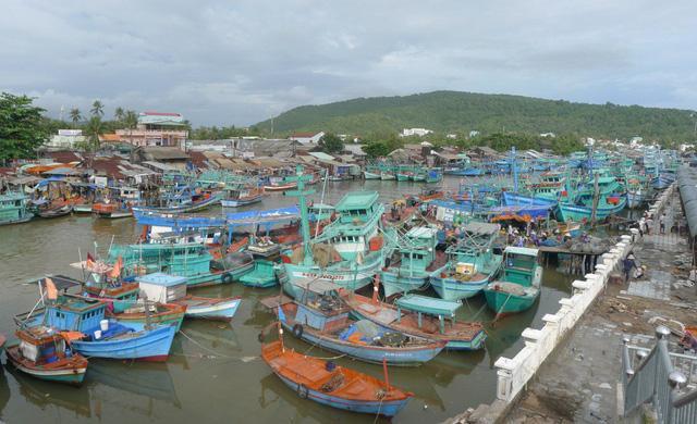 Sáng nay, UBND huyện Phú Quốc đã cấm tất cả tàu cá ra khơi; đồng thời đã thông báo cho tất cả HS trên đảo nghỉ học từ 25/12 đến hết bão.