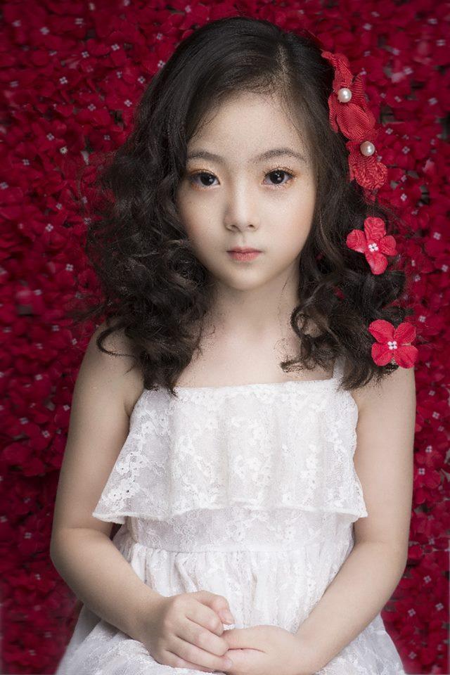 Bảo Vy vốn là một người mẫu nhí khá nổi ở Hà Thành.