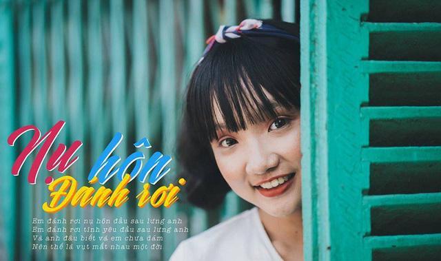 Đây là cô bạn lớp trưởng Hứa Nhật Khánh Uyên - người lên ý tưởng và gắn kết các bạn cùng thực hiện.