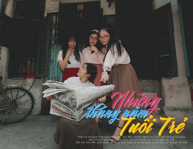 Từ màu sắc trang phục đến gam màu của khung cảnh đều tạo cảm giác gần gũi, đậm chất Sài Gòn những thập niên 80- 90.