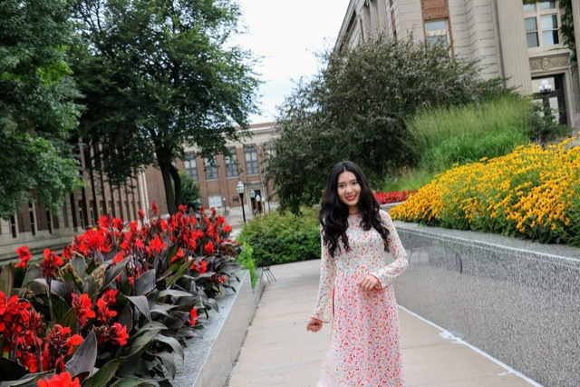 Chinh phục tấm vé chương trình thạc sĩ của đại học hàng đầu Mỹ, Quỳnh Như tiếp tục theo đuổi đam mê dạy học vì trẻ em có hoàn cảnh đặc biệt.