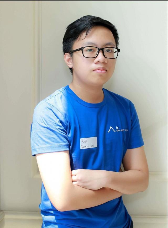 Cao Tuấn Kiệt sẽ là tân sinh viên Đại học Cornell niên khóa 2018 - 2022.