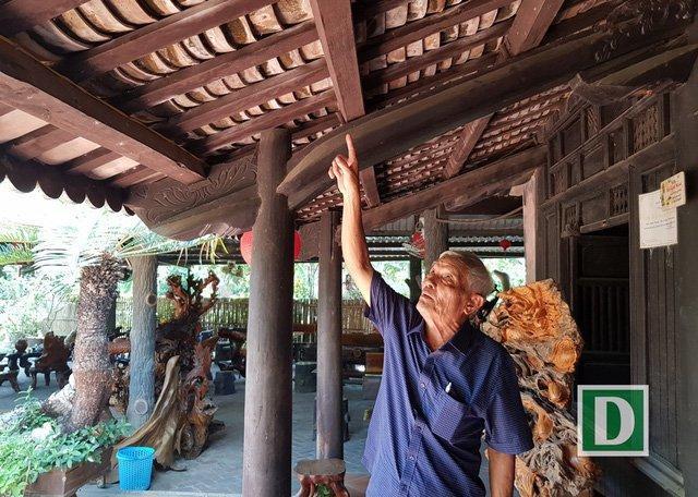 Ngôi nhà cổ hơn 200 năm tuổi độc đáo của ông Nguyễn Xuân Hải ở Nha Trang.