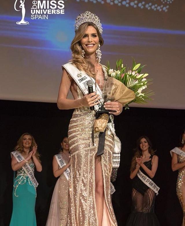 Khoảnh khắc đăng quang của Tân Hoa hậu Tây Ban Nha
