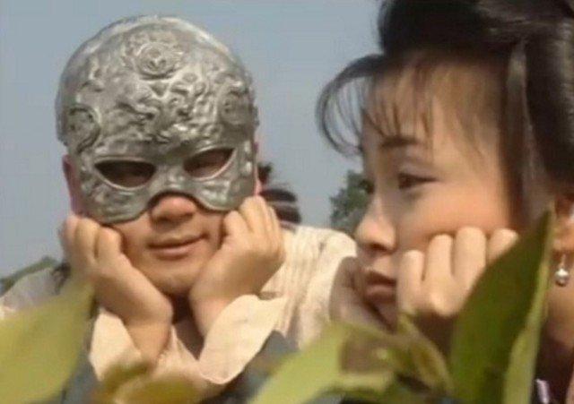 Du Thản Chi và A Tử trong phiên bản TVB năm 1997.