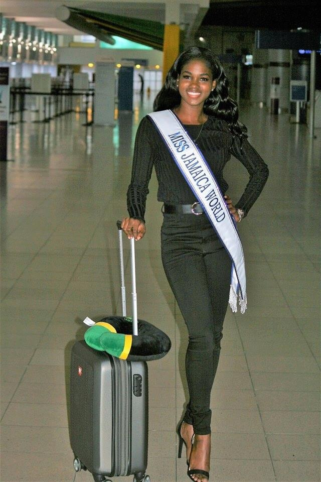Đại diện Jamaica - Kadijah Robinson. Cô 23 tuổi, cao 1m64 là một nhà vật lí trị liệu