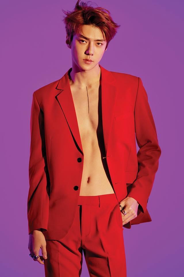 Vẻ quyến rũ, điển trai của cậu út nhà EXO.