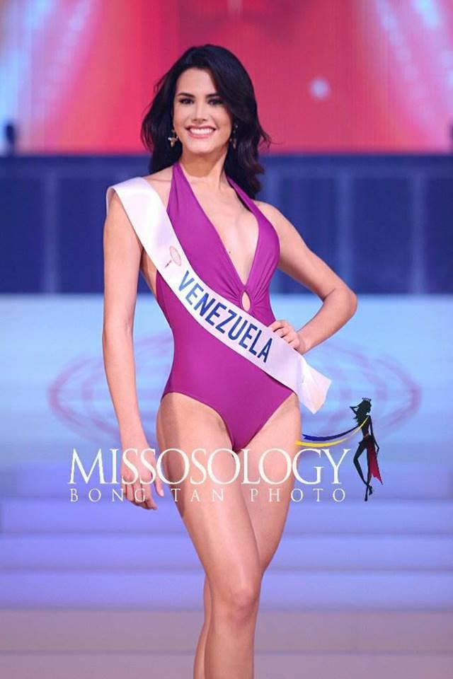 Xếp ở vị trí tiếp theo là đương kim Hoa hậu Quốc tếMariem Velazco.