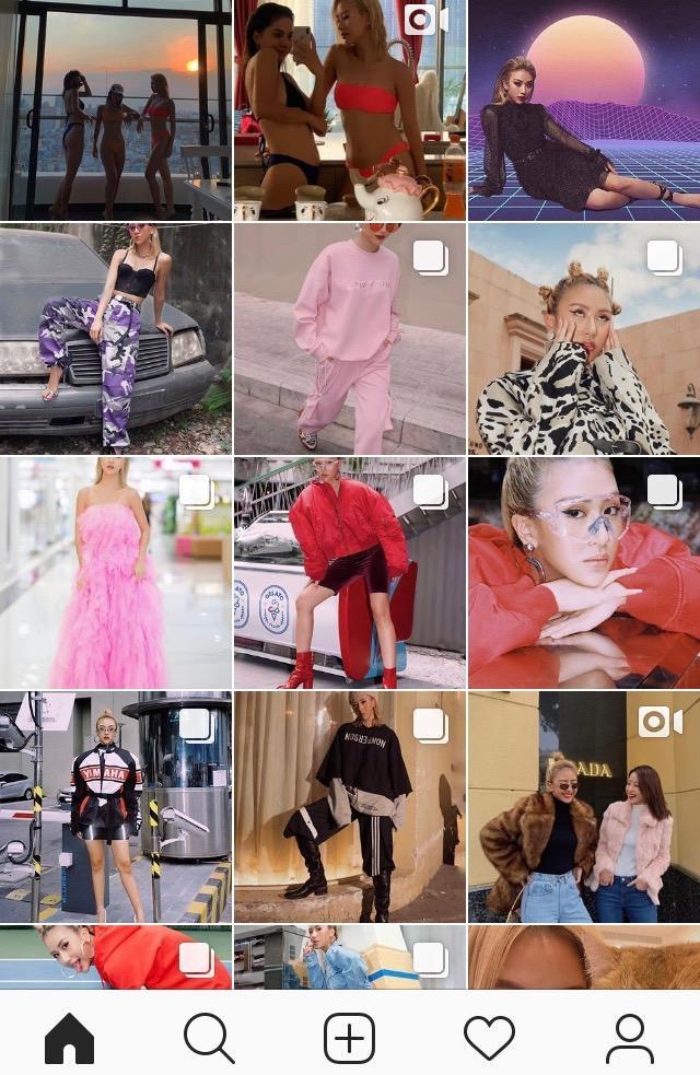 Instagram siêu chất của Quỳnh Anh Shyn