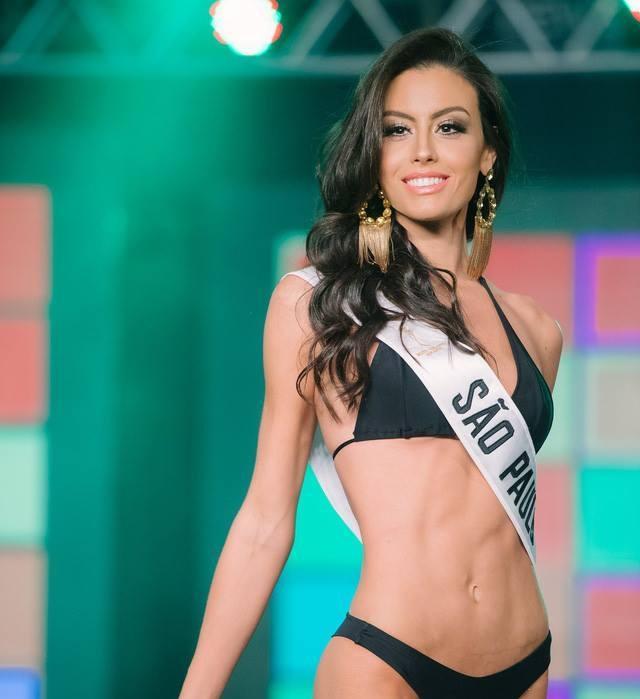 Hình thể nóng bỏng của tân Hoa hậu Hòa bình Brazil.