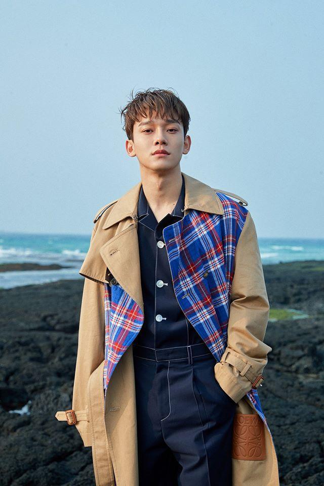 Hình ảnh mới của Chen.