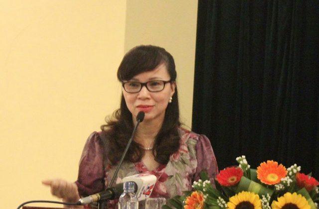 Bà Nguyễn Thị Kim Phụng, Vụ trưởng vụ Giáo dục đại học.