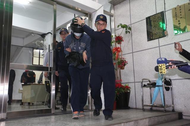 Trần bị cảnh sát bắt giữ sau vụ việc.