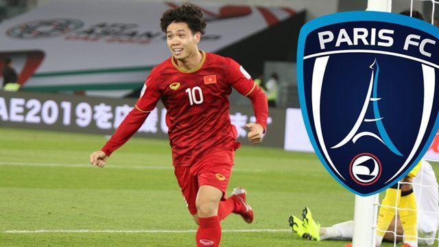 Báo giới Pháp tin tưởng về việc Công Phượng sẽ toả sáng tại Paris FC.